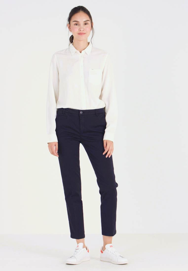 Benetton - GABARDINE STRAIGHT  - Chinos - navy - 1