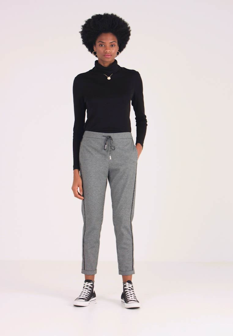 Aaiko - POPPIN PIED - Tracksuit bottoms - black - 1