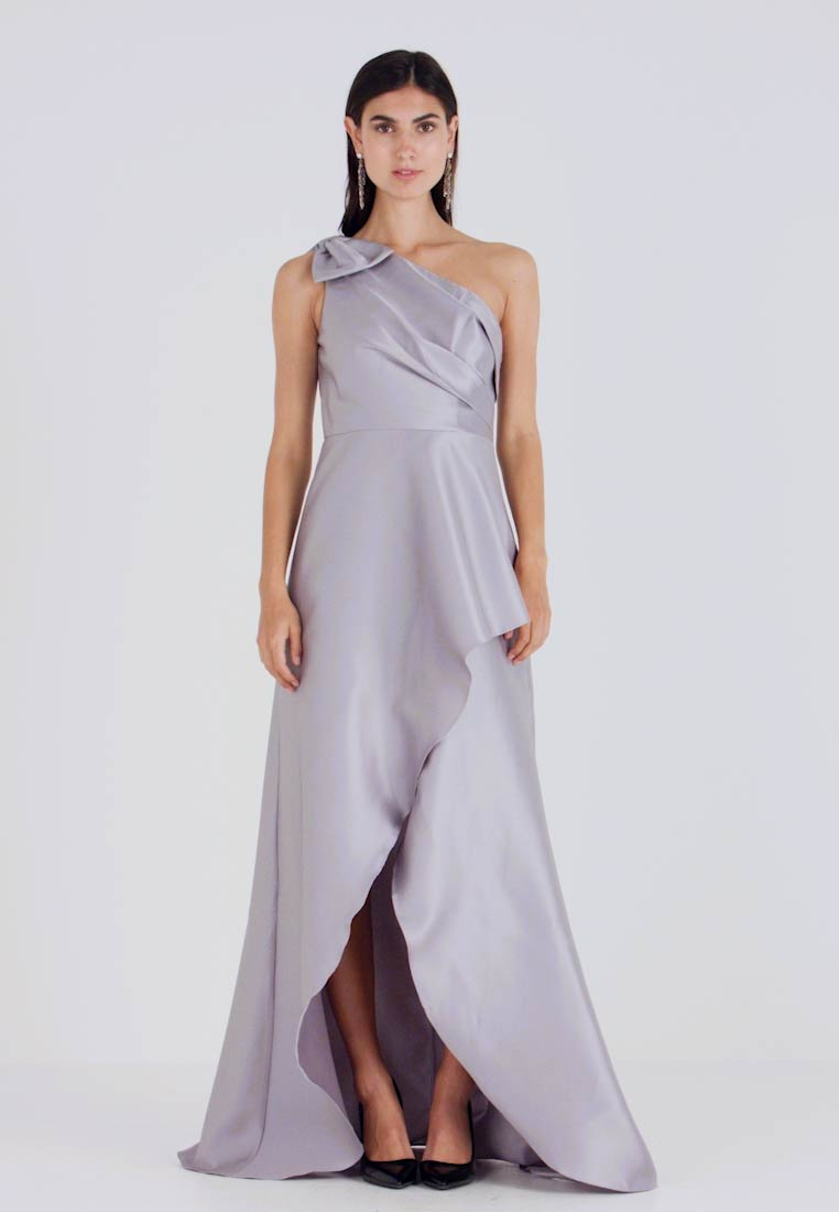 Adrianna Papell - MIKADO LONG DRESS - Robe de cocktail - silver - 1