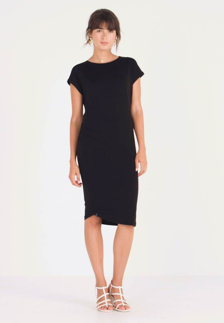 AMOV - ANE DRESS - Jerseyjurk - black - 1