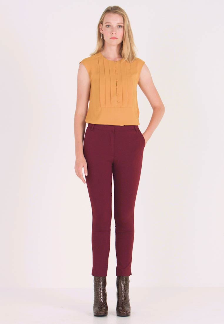 Anna Field - Trousers - burgundy - 1