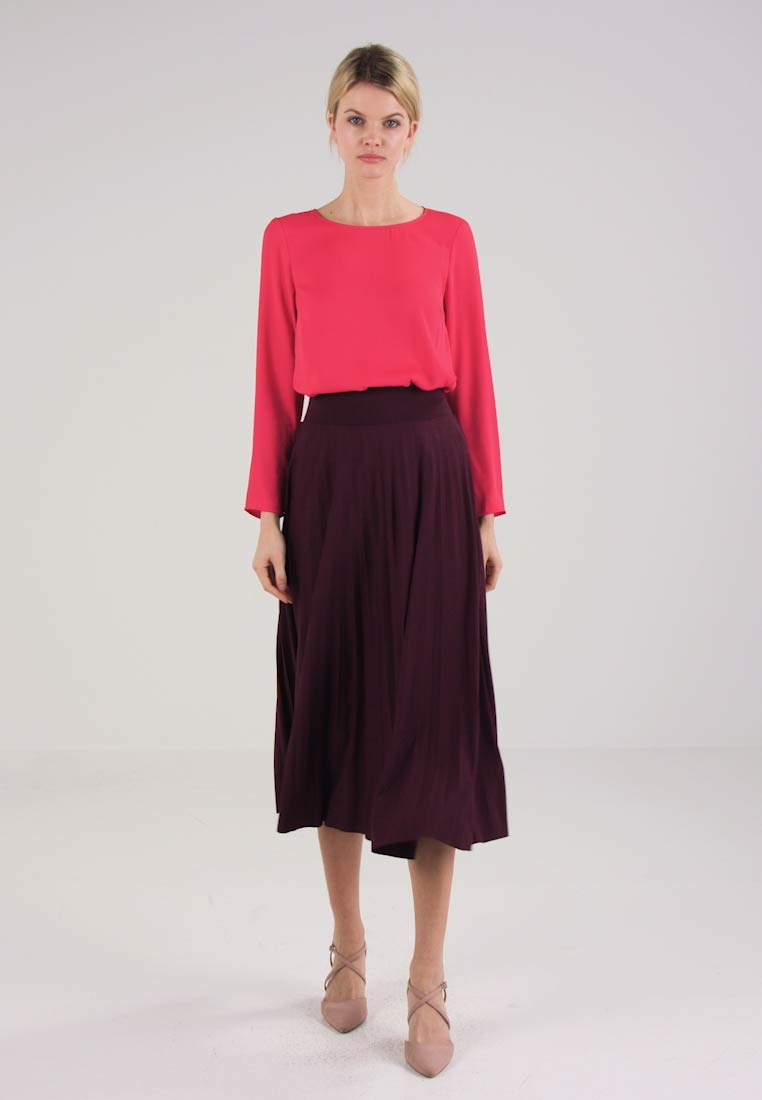 Anna Field - A-line skirt - red - 1