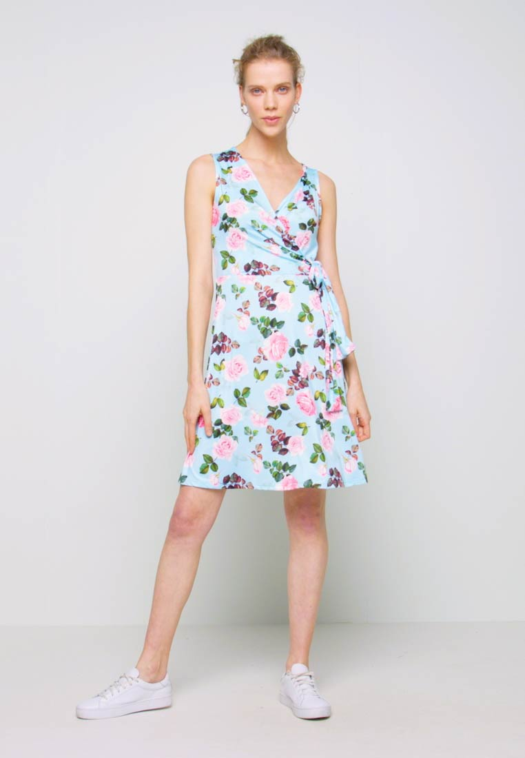 Anna Field - Vestido ligero - light blue/rose - 1