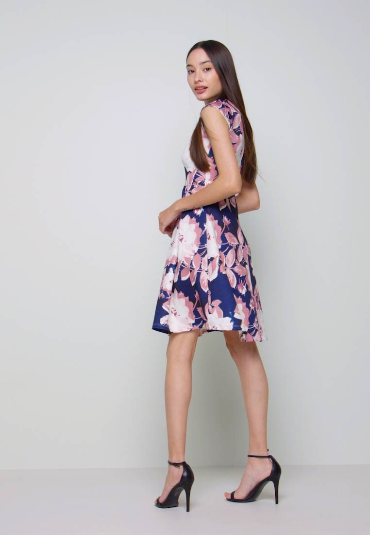 Anna Field Petite - Cocktail dress / Party dress - dark blue/rose - 1