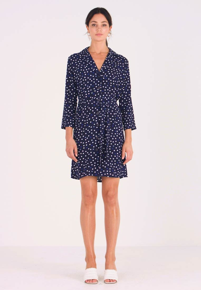 Another-Label - RUISSEAU DRESS - Shirt dress - black iris - 1
