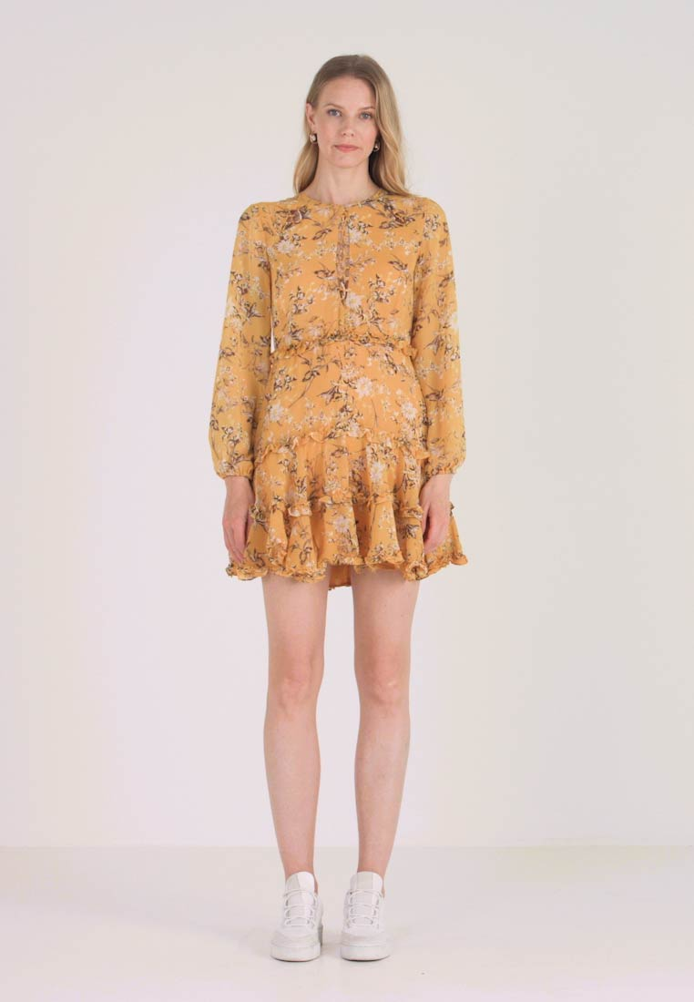 Bardot - JENNIE FLORAL DRESS - Denní šaty - yellow - 1
