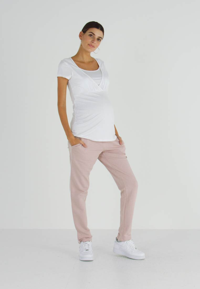 bellybutton - Tracksuit bottoms - shadow gray / rose - 1