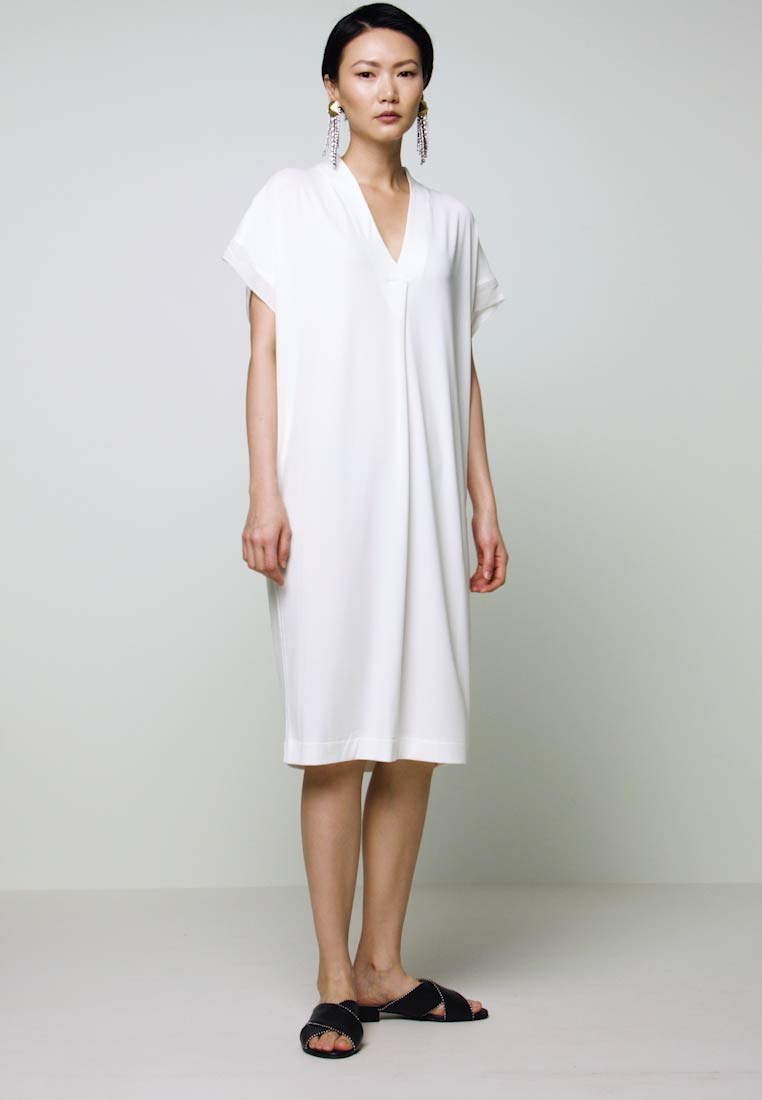 By Malene Birger - LANINAS - Jerseykjole - soft white - 1