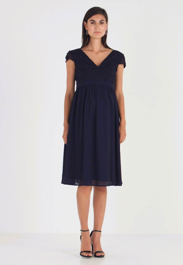 Chi Chi London Maternity - GLYNNIS DRESS - Vestito elegante - navy - 1