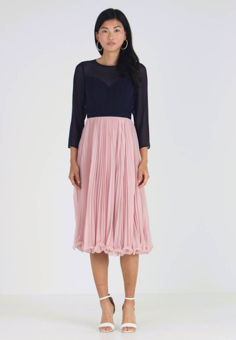 Coast - ZOE LADDERDETAIL MIDI DRESS - Cocktail dress / Party dress - rose - 1