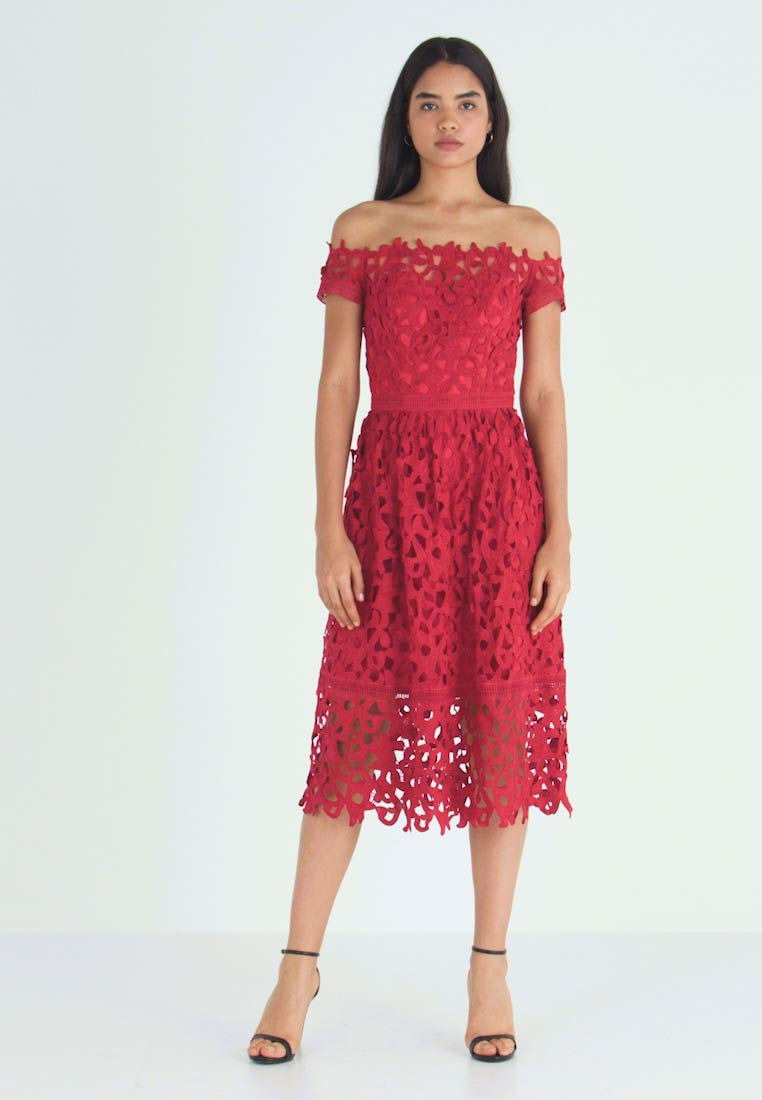 Chi Chi London Tall - ZELMA - Cocktail dress / Party dress - red - 1