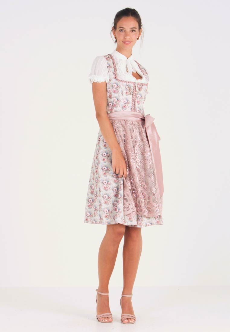 Country Line - Dirndl - taupe rose - 1