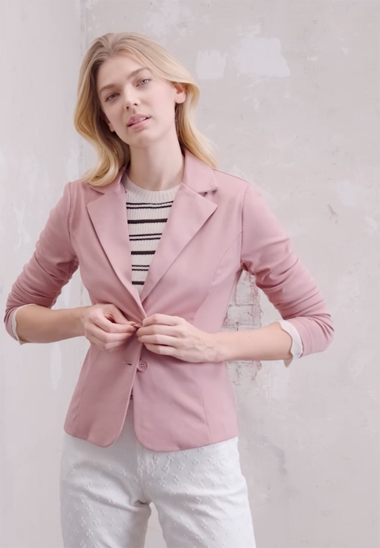 Cream - ANETT - Blazer - old rose - 1