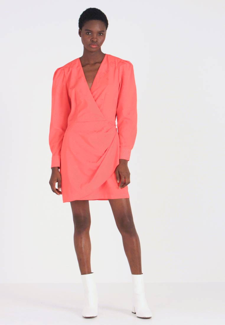 Cras - YVONNECRAS DRESS - Robe d'été - tangerine tango - 1