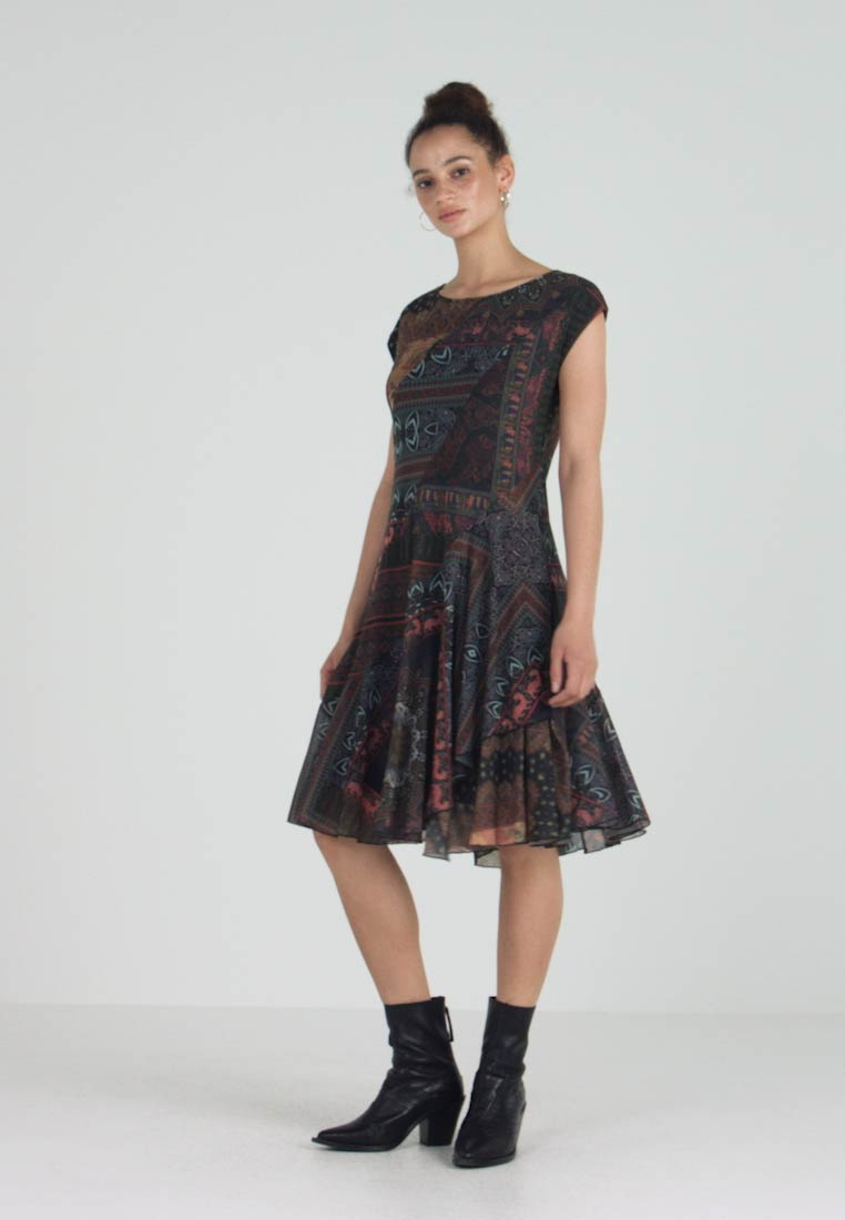 Desigual - Day dress - fitted waist - 1