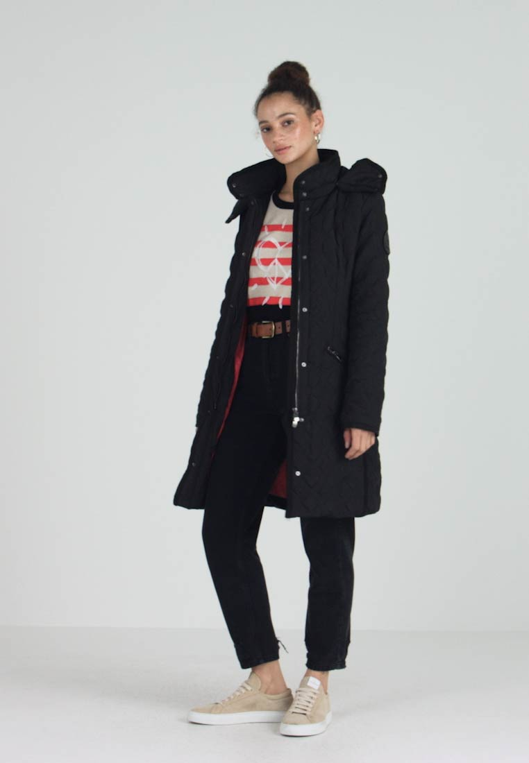 Desigual - PADDED LEICESTER - Cappotto invernale - black - 1