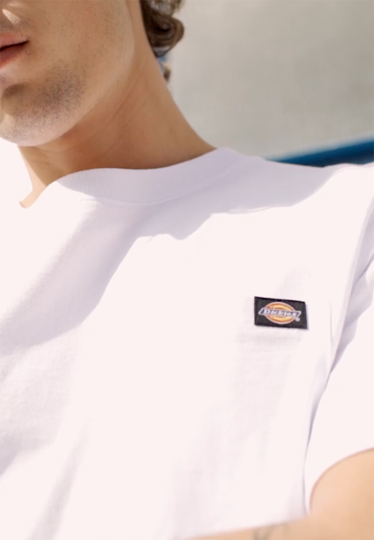 Dickies - PORTERDALE POCKET - Basic T-shirt - white - 1