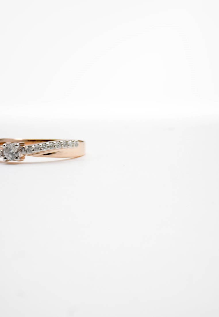 DIAMANT L'ÉTERNEL - Ring - rosegold-coloured - 1