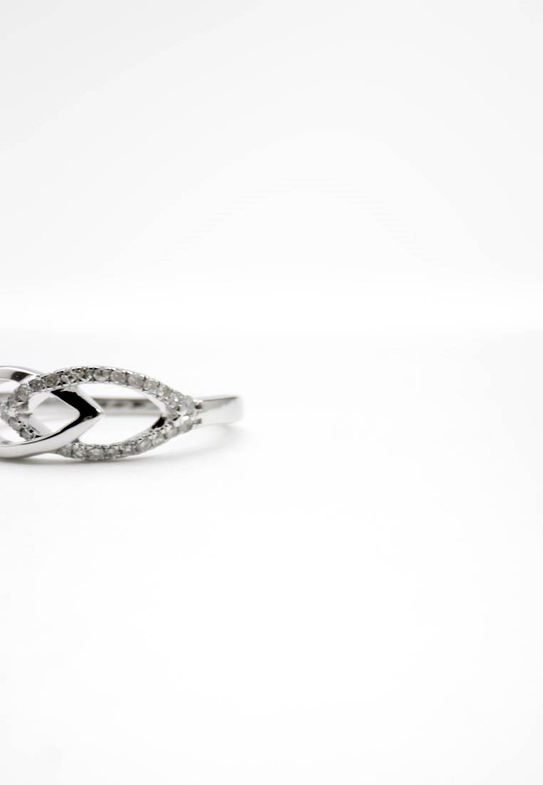 DIAMANT L'ÉTERNEL - WHITE GOLD - Ring - silver-coloured - 1
