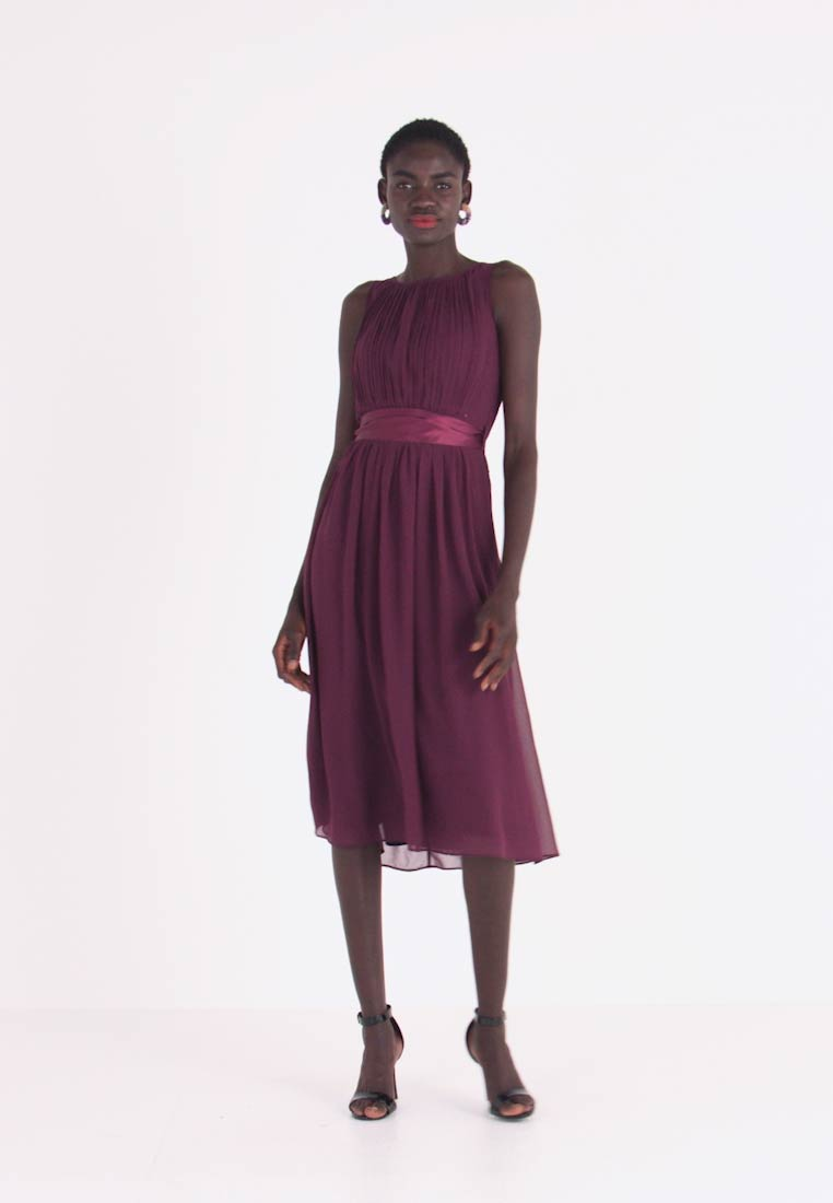 bethany midi - cocktailkleid/festliches kleid - oxblood