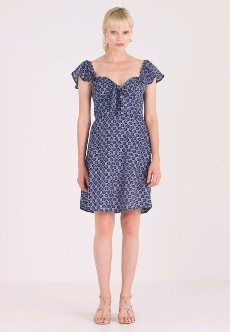 Dorothy Perkins - TIE FRONT DRESS - Day dress - multi - 1