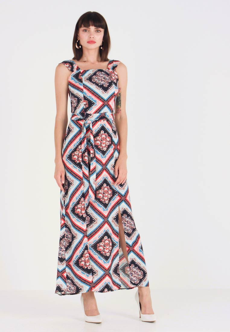 Dorothy Perkins - SQUARE NECK MAXI DRESS - Maxikjoler - multi - 1