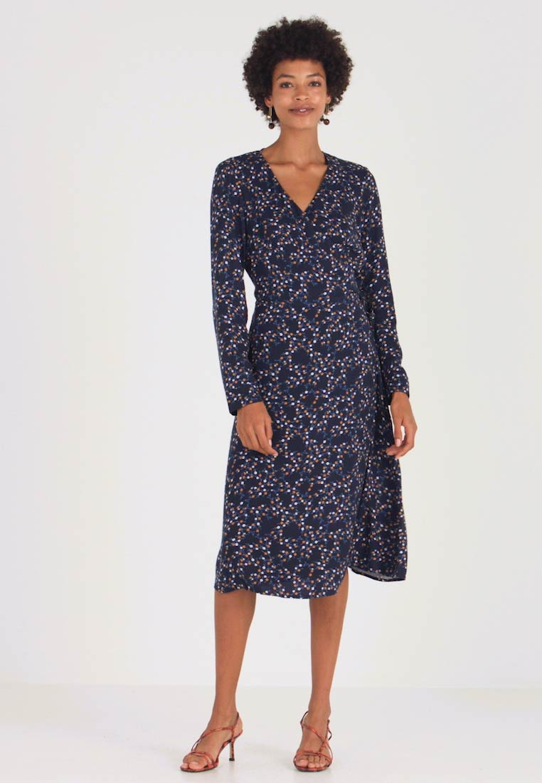 edc by Esprit - WRAP DRESS - Kjole - navy - 1