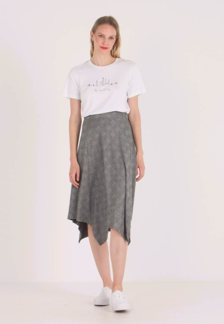 Esprit Collection - A LINE SKIRT - Spódnica trapezowa - camel - 1