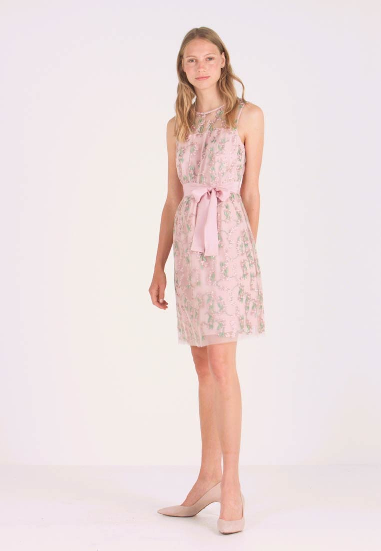 Esprit Collection - DAISY STEM - Cocktail dress / Party dress - old pink - 1