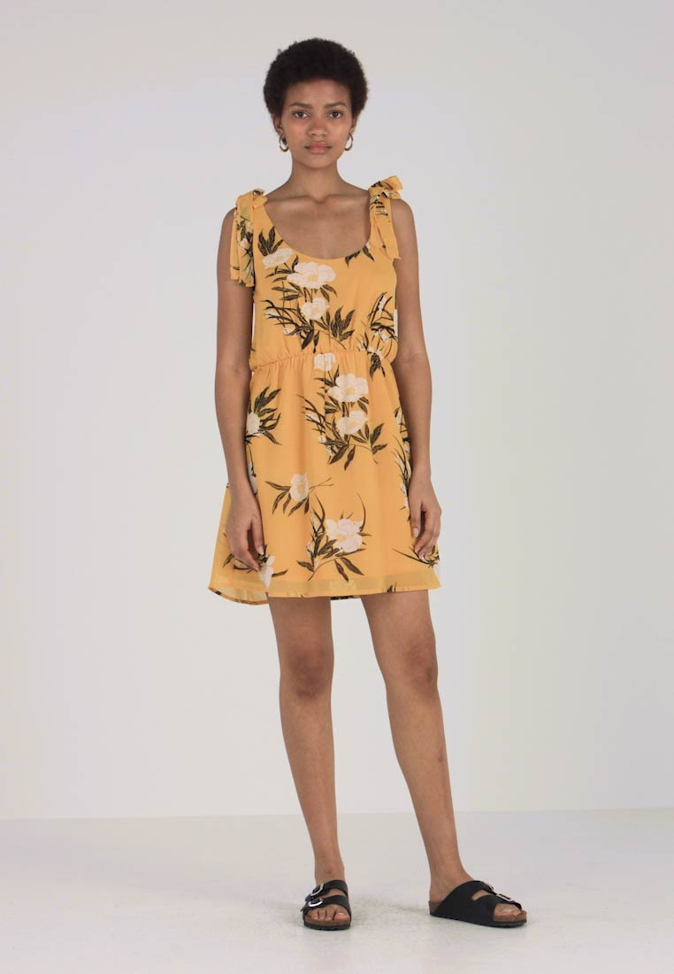 Even&Odd - Korte jurk - yellow - 1