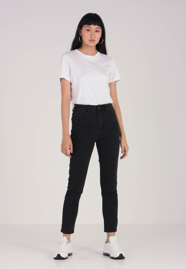 Even&Odd - Jeans Relaxed Fit - black - 1