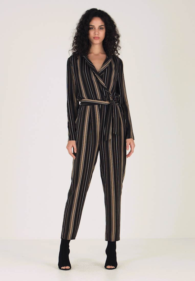 Even&Odd - Jumpsuit - black/multicoloured - 1
