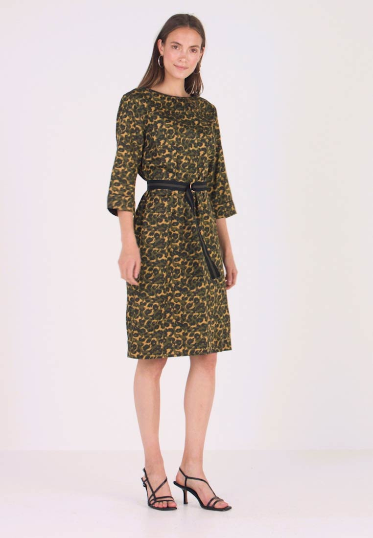 Freequent - Day dress - olive night - 1