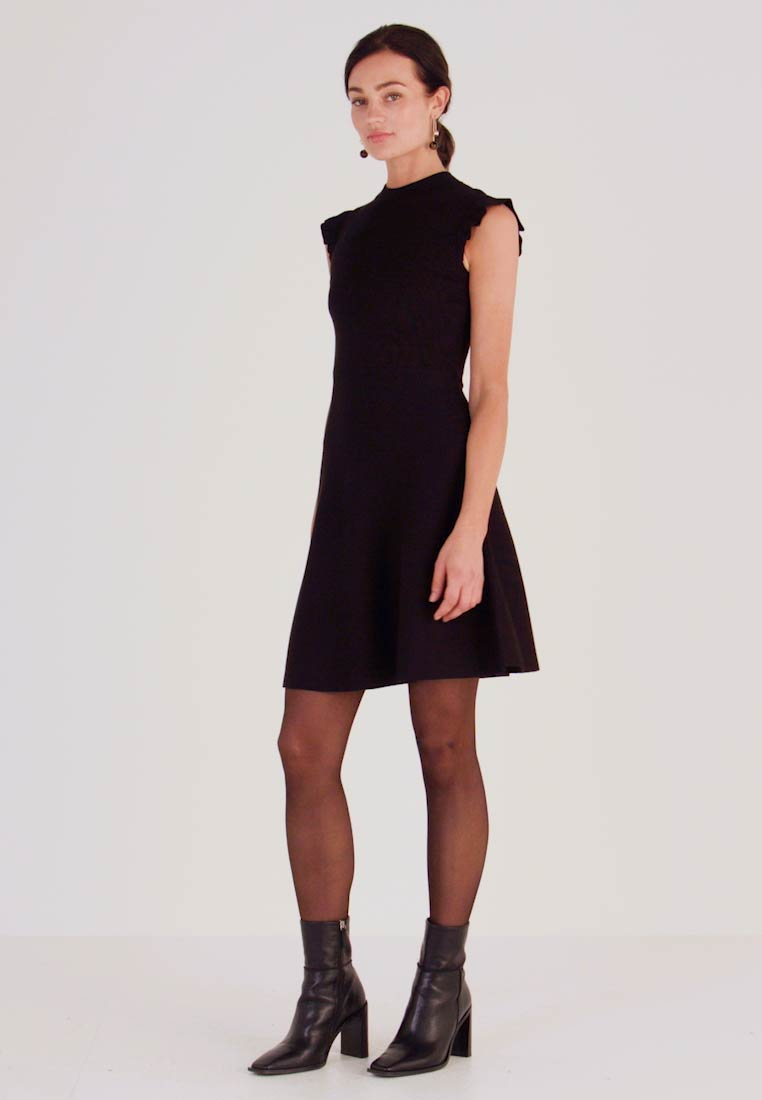 Forever New - BILLY FIT AND FLARE DRESS - Jumper dress - black - 1