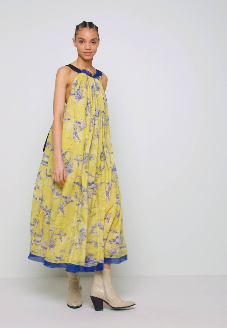 Free People - TROPICAL TOILE MAXI - Denní šaty - green - 1