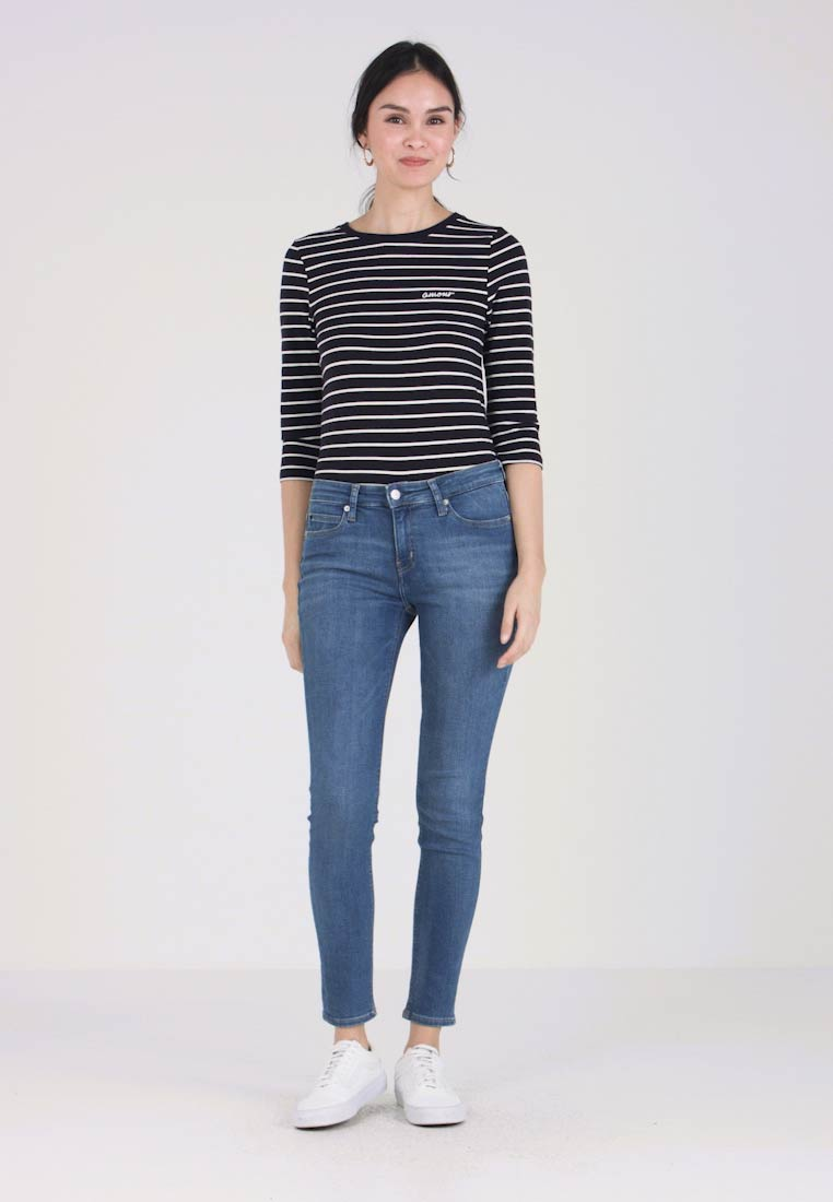 French Connection - TIM TIM AMOUR - Long sleeved top - dark blue - 1