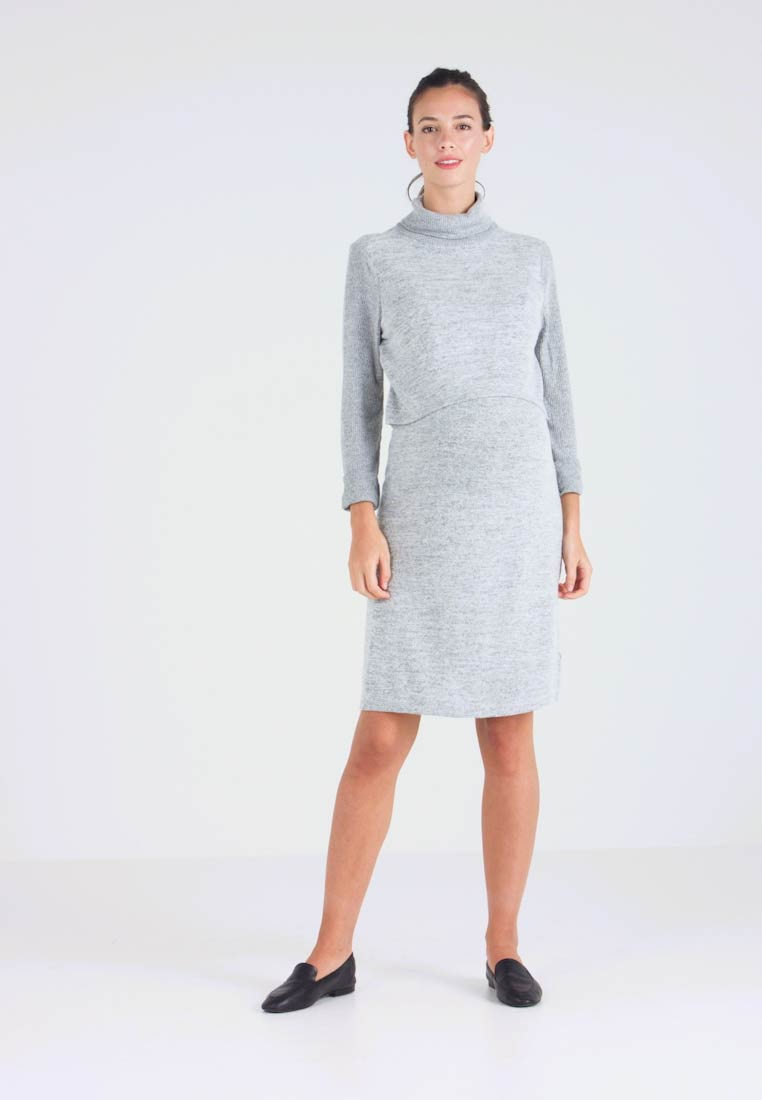 new images of cheap price special sales GAP Maternity COZY NURSING DRESS - Jumper dress - light grey ...