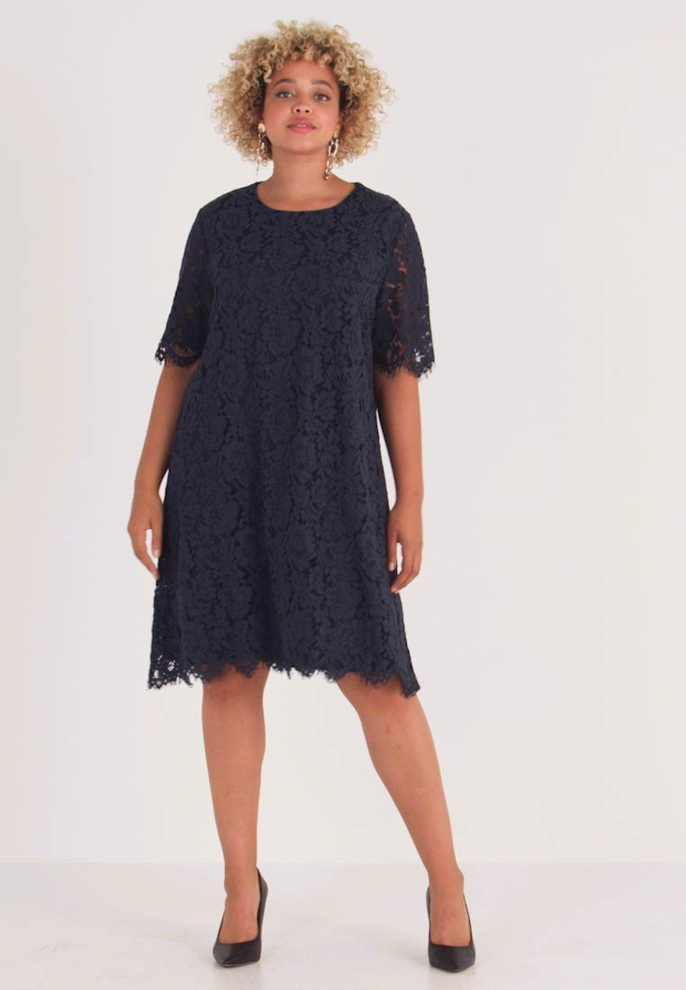 Glamorous Curve - SHIFT DRESS - Cocktail dress / Party dress - navy - 1