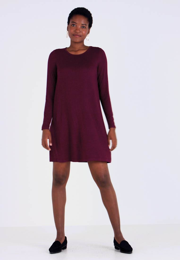 GAP - DRESS - Jersey dress - secret plum - 1