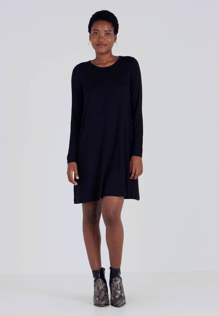 GAP - DRESS - Jersey dress - true black - 1