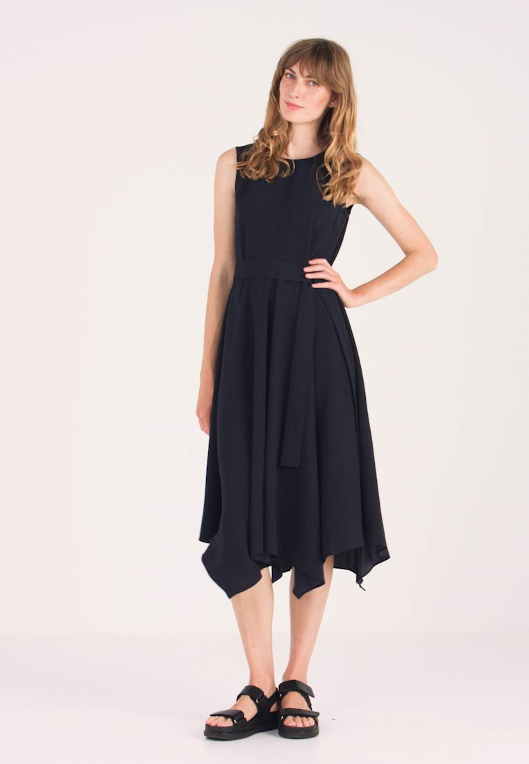Great Plains London - EASY DRAPE - Cocktail dress / Party dress - space navy - 1