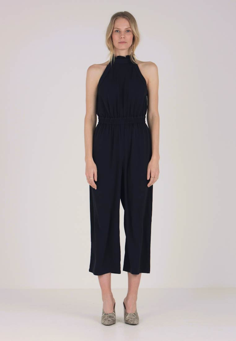 Great Plains London - LOUIS CREPE - Jumpsuit - dark navy - 1
