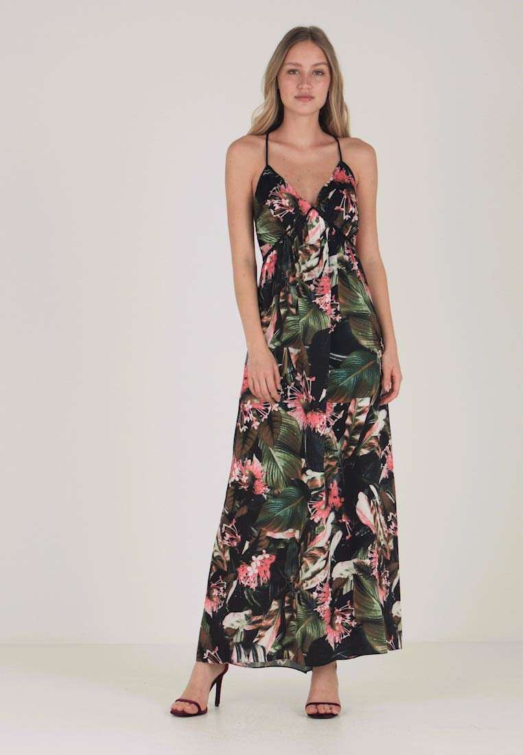 Guess - PAULA DRESS - Maxi-jurk - flower bush pink com - 1