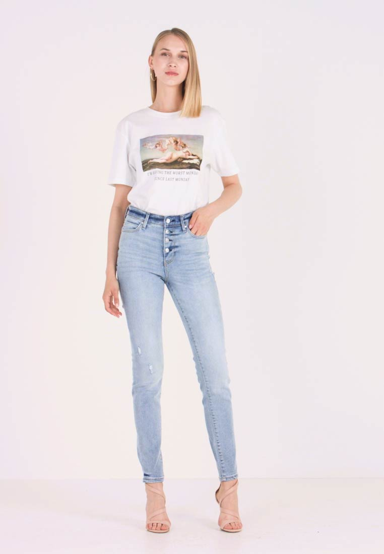 Guess - 1981 EXPOSED BUTTON - Jeans Skinny Fit - malibu - 1