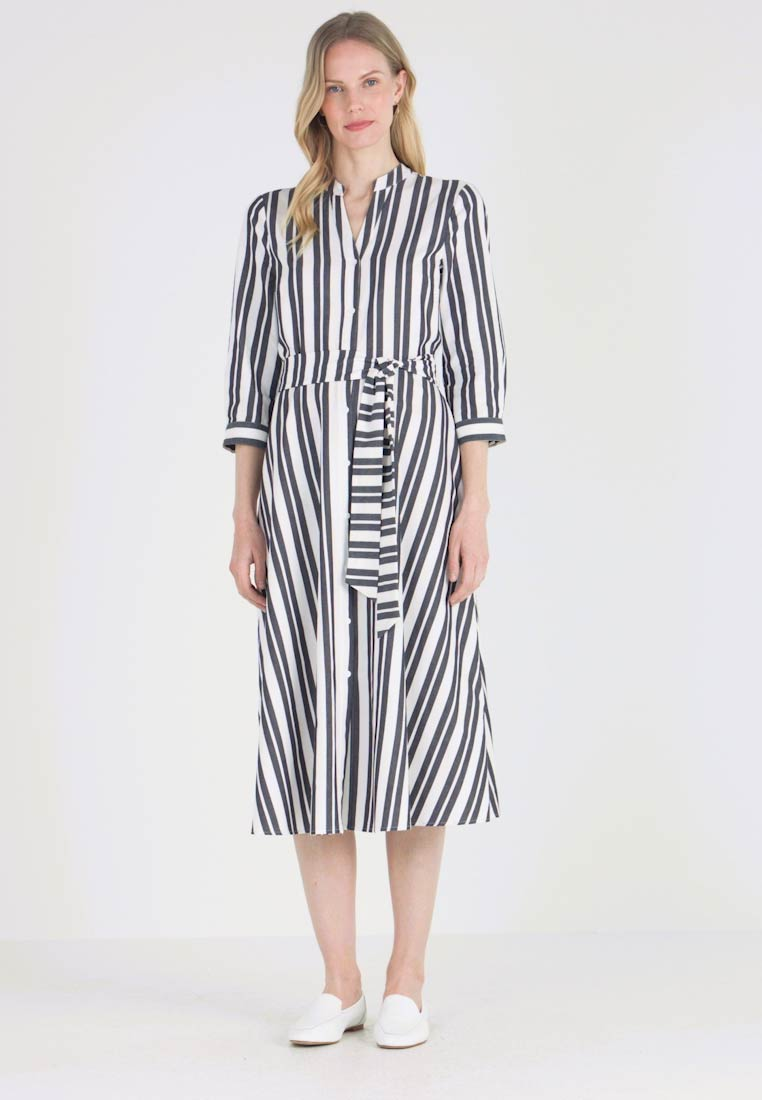Hobbs - LEANNA DRESS - Skjortekjole - white/black - 1