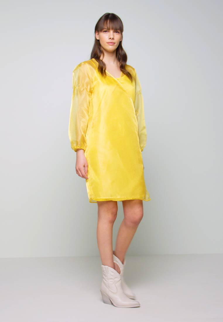 HOSBJERG - ROCKET DRESS - Day dress - yellow - 1