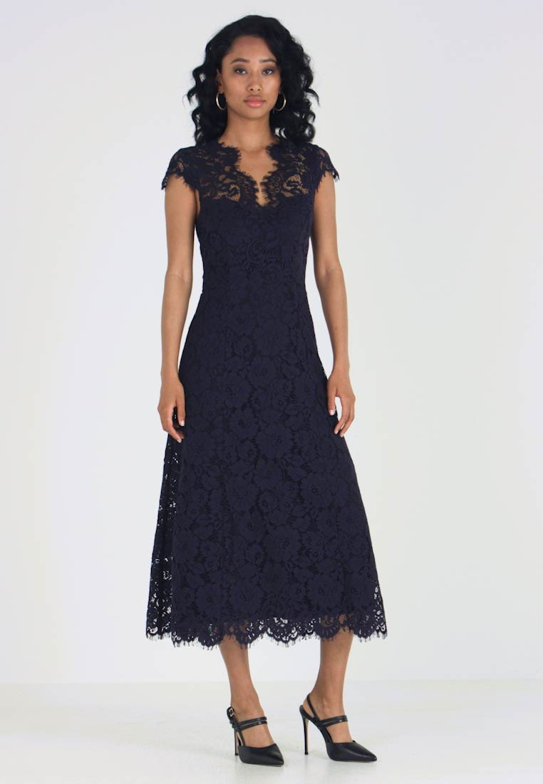 IVY & OAK - FLARED DRESS CAP SLEEVE - Occasion wear - navy blue - 1