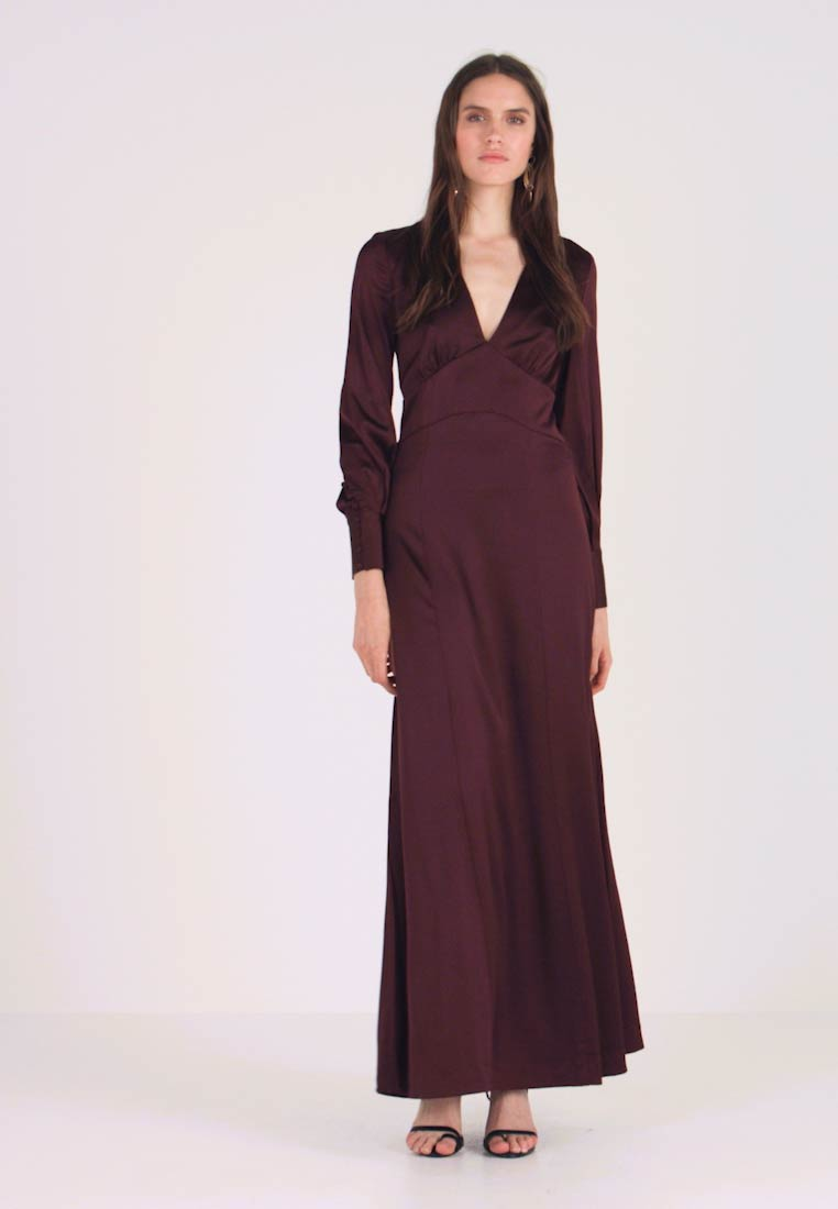 IVY & OAK - DRESS LONG SLEEVE - Iltapuku - rouge noir - 1
