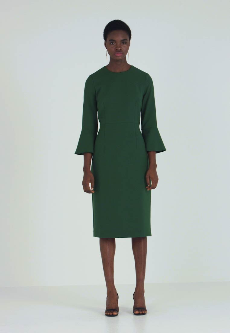 IVY & OAK - TRUMPET SLEEVE DRESS - Shift dress - eden green - 1