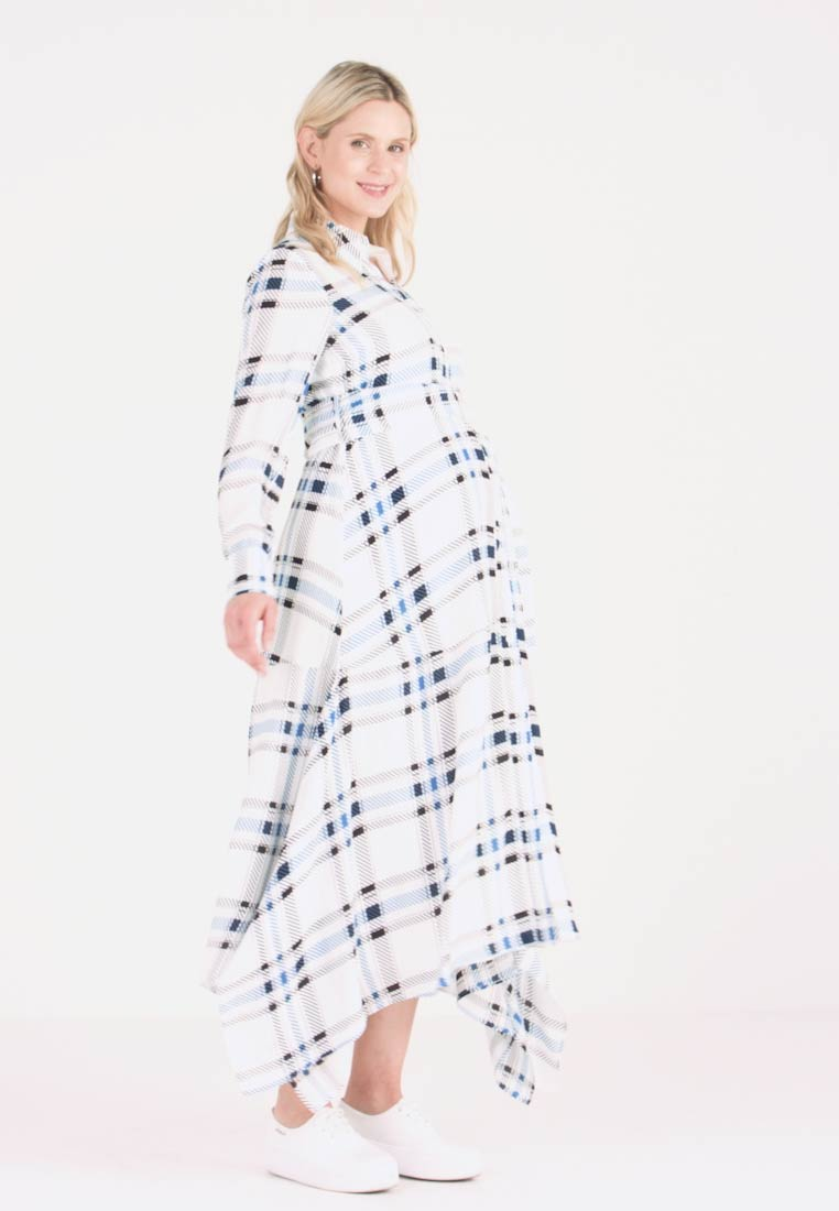 IVY & OAK Maternity - MATERNITY DRESS - Shirt dress - snow white - 1